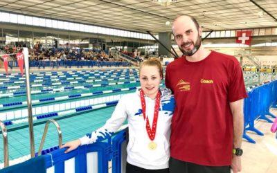Schweizermeister Titel für Jill Vivian Reich vom Schwimmverein beider Basel