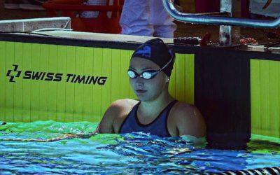 Artikel BZ Basel: Gegen den Strom: Schwimmerin Jill Reich macht ihre mangelnde Grösse mit viel Talent wett