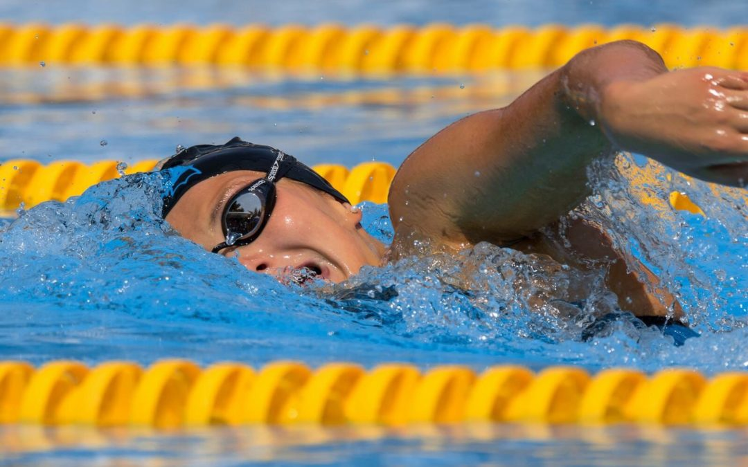Artikel aus der BZ: Jill Vivian Reich holt sich den Schweizer Meistertitel über 800m Freistil