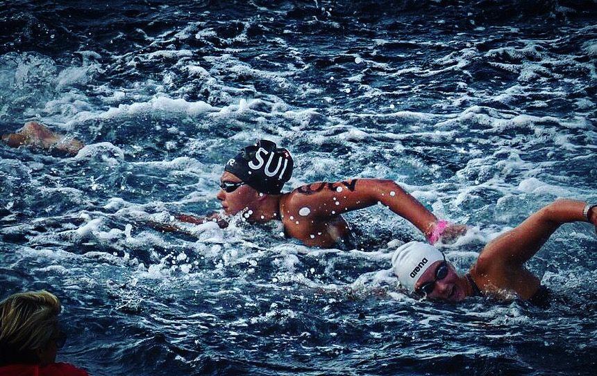 Interview mit dem SRF: Jill Reich kämpft gegen Konkurrentinnen und Wellen